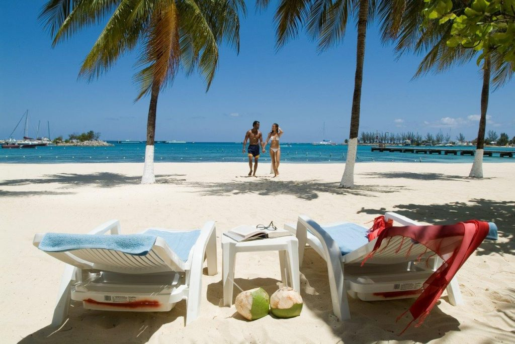 Social distance on the beach! Book with a travel agent when you go.